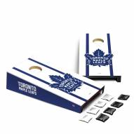 Toronto Maple Leafs Mini Cornhole Set