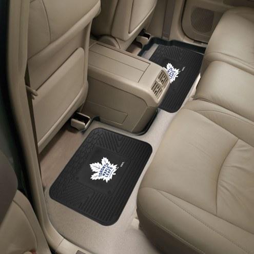 Toronto Maple Leafs Vinyl 2-Piece Rear Floor Mats