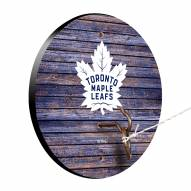 Toronto Maple Leafs Weathered Design Hook & Ring Game