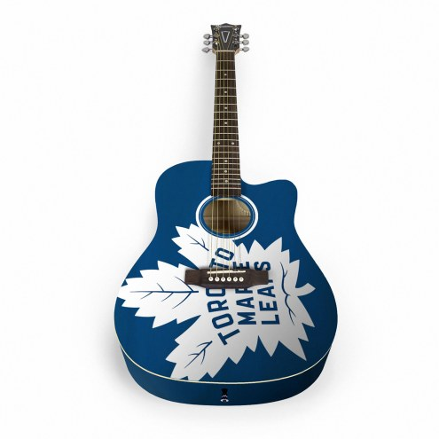 Toronto Maple Leafs Woodrow Acoustic Guitar