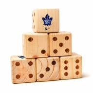 Toronto Maple Leafs Yard Dice
