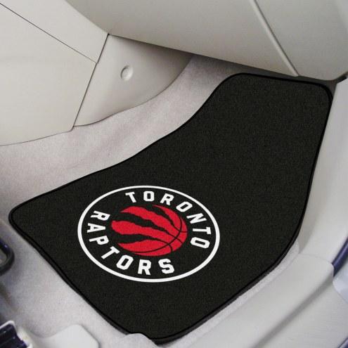 Toronto Raptors 2-Piece Carpet Car Mats
