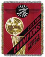 Toronto Raptors 2019 NBA Champions Throw Blanket
