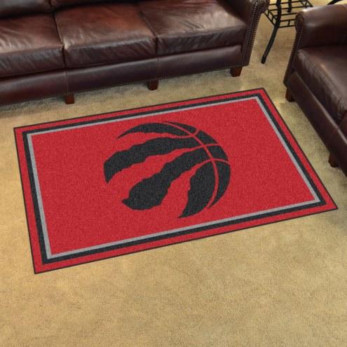 Toronto Raptors 4' x 6' Area Rug