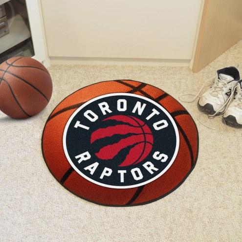 Toronto Raptors Basketball Mat