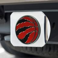 Toronto Raptors Chrome Color Hitch Cover