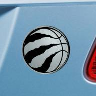 Toronto Raptors Chrome Metal Car Emblem