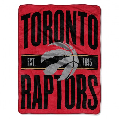 Toronto Raptors Clear Out Throw Blanket