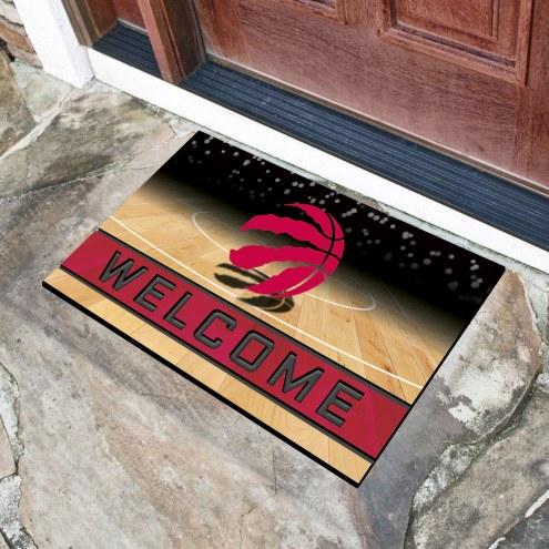 Toronto Raptors Crumb Rubber Door Mat