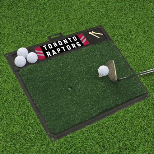 Toronto Raptors Golf Hitting Mat