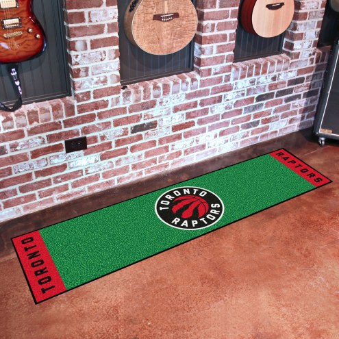 Toronto Raptors Golf Putting Green Mat