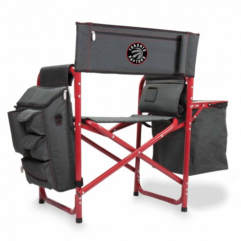 Toronto Raptors Gray/Red Fusion Folding Chair