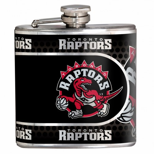 Toronto Raptors Hi-Def Stainless Steel Flask