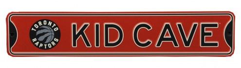 Toronto Raptors Kid Cave Street Sign