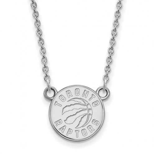 Toronto Raptors Sterling Silver Small Pendant Necklace