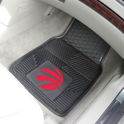 Toronto Raptors Vinyl 2-Piece Car Floor Mats