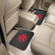 Toronto Raptors Vinyl 2-Piece Rear Floor Mats