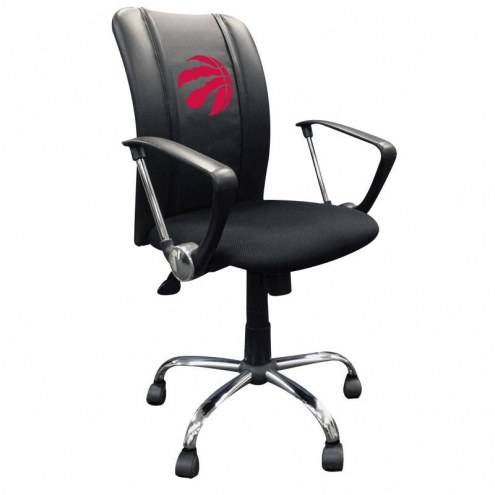 Toronto Raptors XZipit Curve Desk Chair with Red Logo