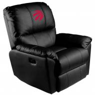 Toronto Raptors XZipit Rocker Recliner with Red Logo