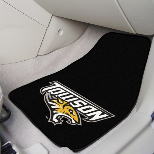 Towson Tigers 2-Piece Car Mats