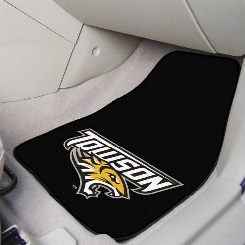 Towson Tigers 2-Piece Car Mats