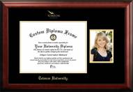 Towson Tigers Gold Embossed Diploma Frame with Portrait
