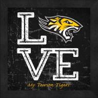 Towson Tigers Love My Team Color Wall Decor