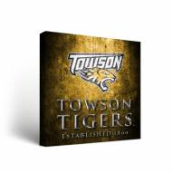 Towson Tigers Museum Canvas Wall Art