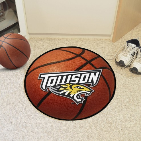 Towson Tigers Basketball Mat