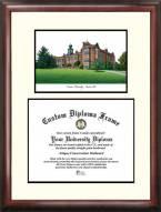 Towson Tigers Scholar Diploma Frame