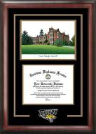 Towson Tigers Spirit Diploma Frame with Campus Image