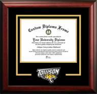 Towson Tigers Spirit Diploma Frame