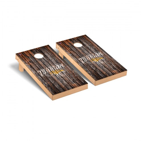 Towson Tigers Weathered Cornhole Game Set