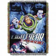 Toy Story Buzz Victorious Throw Blanket