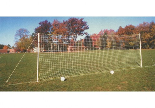 Training PowerGoal Double-Sided Soccer Practice Goal by Goal Sporting Goods - 8' x 24'