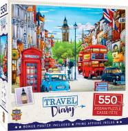 Travel Diary London 550 Piece Puzzle