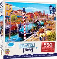 Travel Diary Venice 550 Piece Puzzle