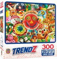 Trendz Funny Face Food 300 Piece EZ Grip Puzzle