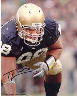 Trevor Laws in a Three Point Stance 11 x 14 Photo