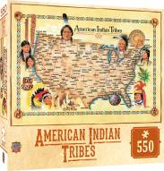 Tribal Spirit American Indian Tribes 550 Piece Puzzle