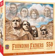 Tribal Spirit Founding Fathers 550 Piece Puzzle