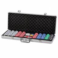 Triumph 500 Poker Chips W/ Case
