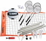 Triumph Sports Advanced Badminton/Volleyball Set