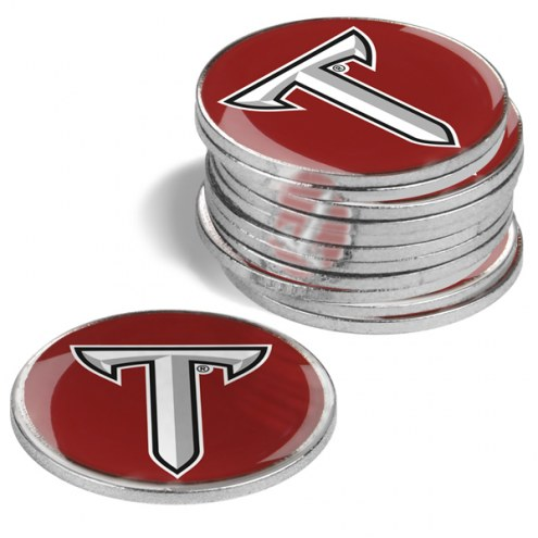 Troy Trojans 12-Pack Golf Ball Markers