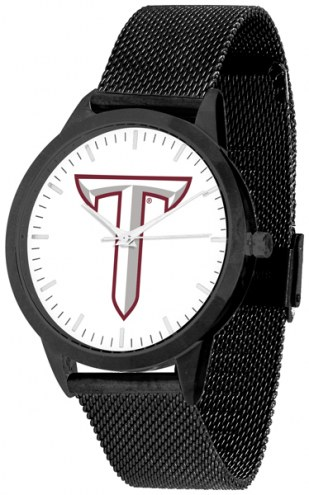 Troy Trojans Black Mesh Statement Watch