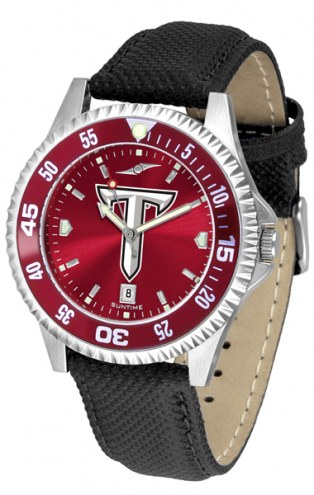 Troy Trojans Competitor AnoChrome Men's Watch - Color Bezel