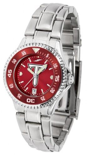 Troy Trojans Competitor Steel AnoChrome Women's Watch - Color Bezel