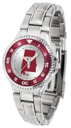 Troy Trojans Competitor Steel Women's Watch