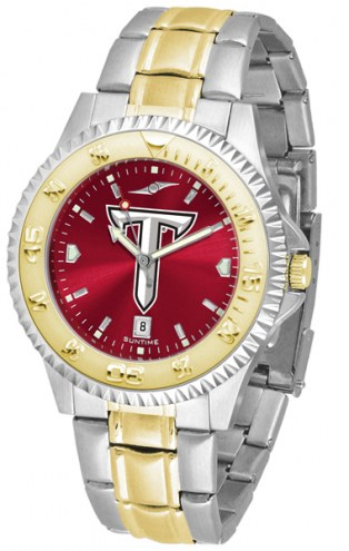 Troy Trojans Competitor Two-Tone AnoChrome Men's Watch