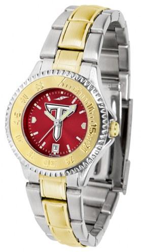 Troy Trojans Competitor Two-Tone AnoChrome Women's Watch